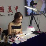 中国ジェルメーカーの主催のネイルスクール